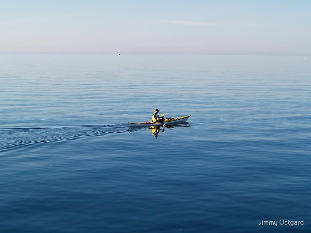 Kayaker by Jimmy Ostgard