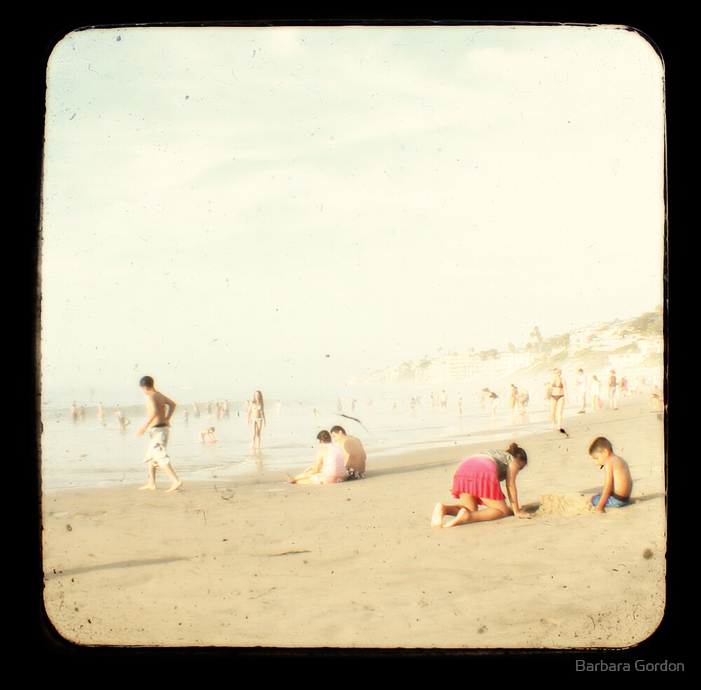 Beach Fun 2A by Barbara Gordon