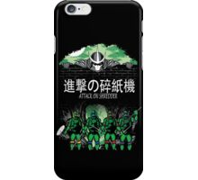 Attack on Shredder (All Turtles) iPhone Case/Skin