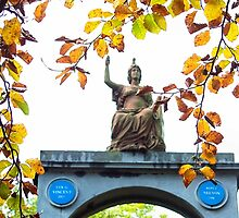 Britannia - The Naval Temple - Monmouth by missmoneypenny