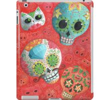 Colourful Sugar Skulls iPad Case/Skin