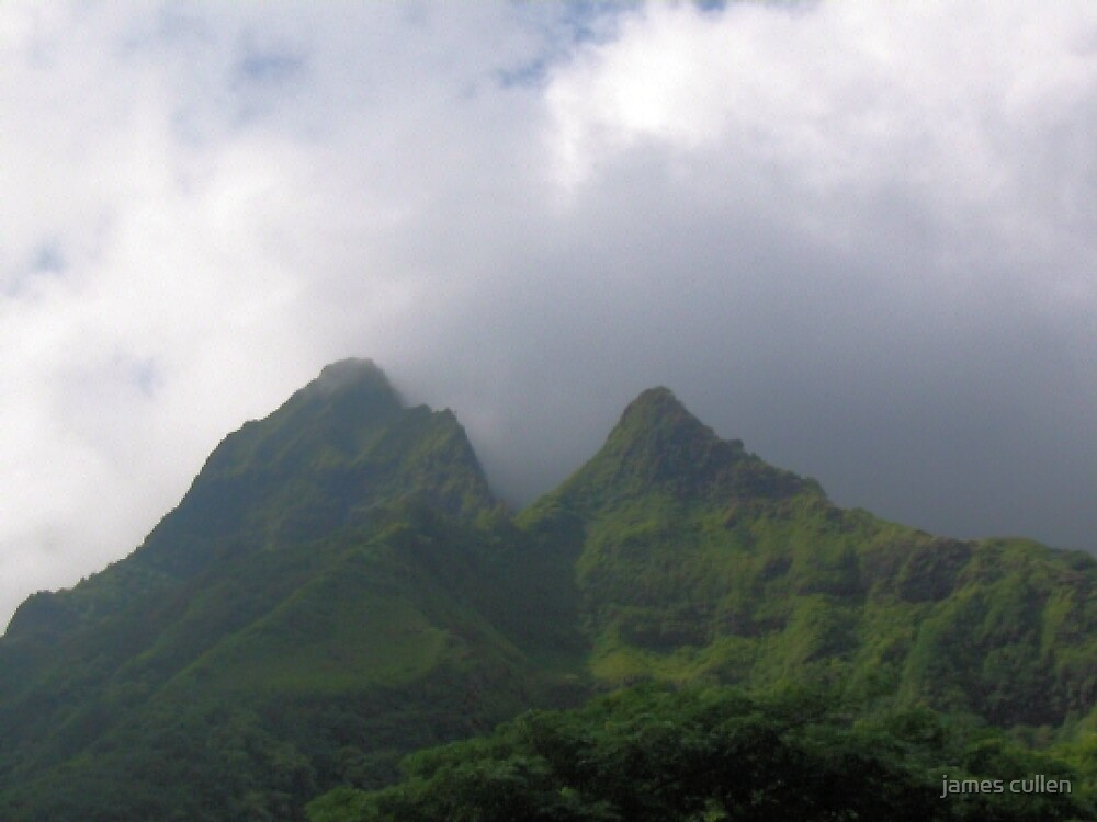 MOUNTAIN PEAK III by james cullen