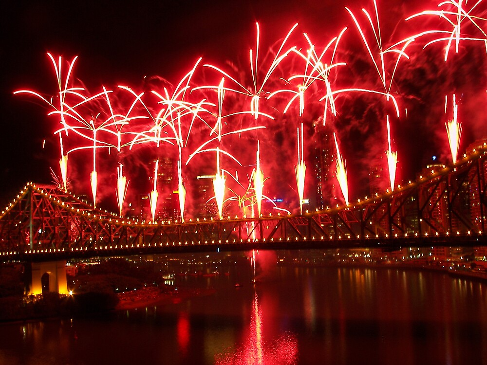 Fireworks by Linda Swadling