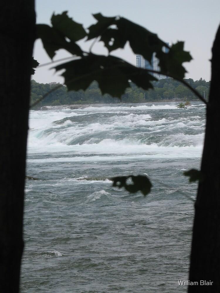Niagara River A by William Blair