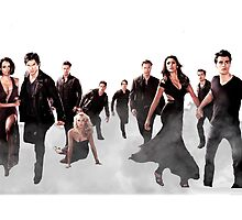 The Vampire Diaries Cast by Dylanoposey
