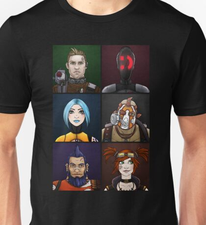 Borderlands 2: Vault Hunters Unisex T-Shirt