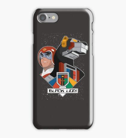 Black Lion and Pilot iPhone Case/Skin