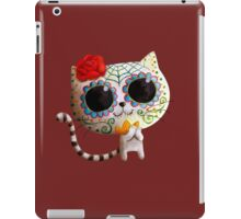 White Cat of The Dead iPad Case/Skin
