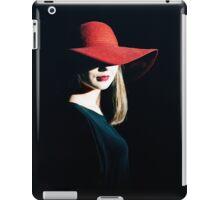 red hat iPad Case/Skin