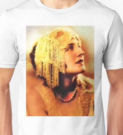 Norma Shearer, Vintage Hollywood Actress Unisex T-Shirt