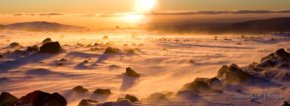 Ruapehu Mt. by Alexander Efimov