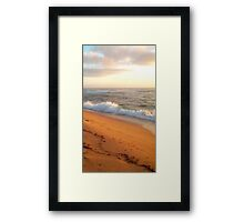 Shelly Beach Framed Print