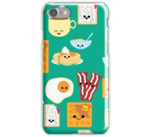 Kawaii Breakfast  iPhone Case/Skin