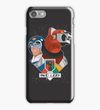 Red Lion and Pilot iPhone Case/Skin