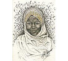 LittleTanzanian Girl Photographic Print