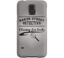 Baker Street Detective (Black) Samsung Galaxy Case/Skin