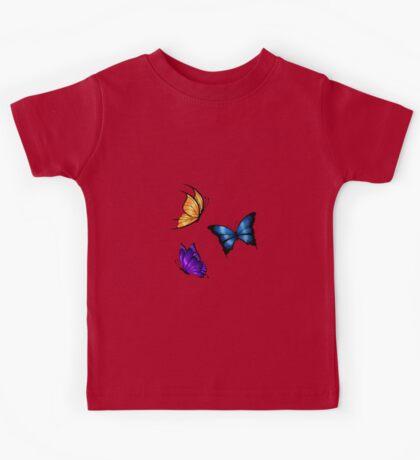 Butterflies Kids Tee