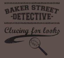 Baker Street Detective (Black) One Piece - Short Sleeve
