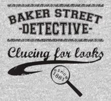 Baker Street Detective (Black) Kids Clothes