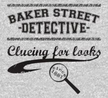 Baker Street Detective (Black) One Piece - Short Sleeve
