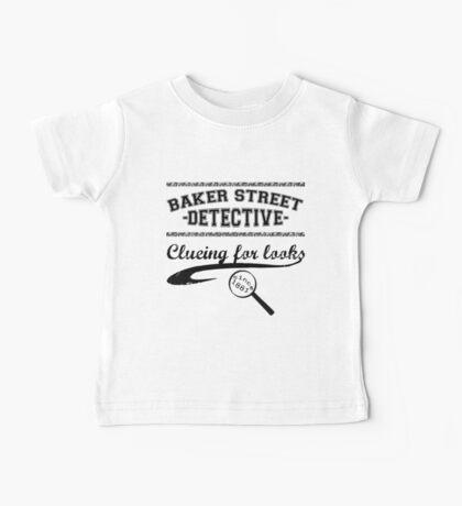 Baker Street Detective (Black) Baby Tee