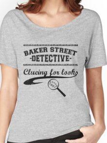 Baker Street Detective (Black) Women's Relaxed Fit T-Shirt