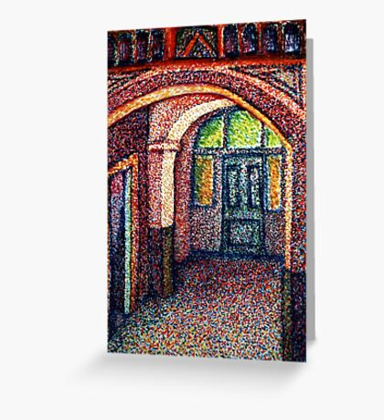 Hallway Greeting Card