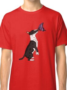 Bull Terrier and the Beast Classic T-Shirt