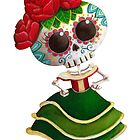 Mexican Skeleton Girl by colonelle