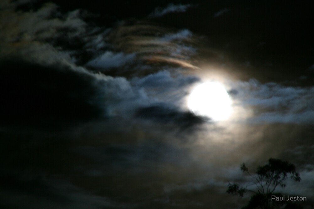 moon storm by Paul Jeston