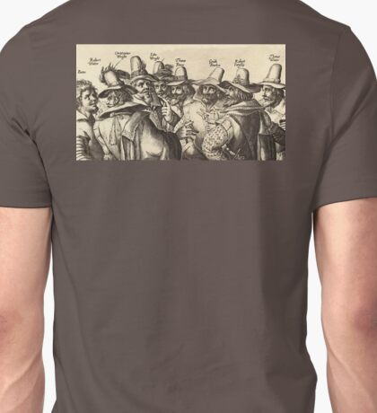 Guy Fawkes, Gunpowder Plot, Bonfire Night, Fireworks Unisex T-Shirt