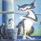 Bluey Fishing - Art by TET by etourist