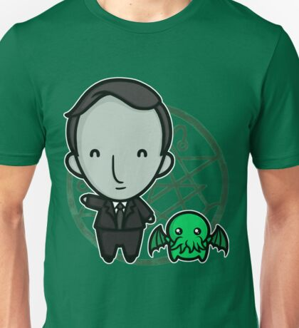 HP Lovecraft and Friend T-Shirt