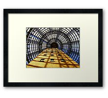 """""""come into my web"""" , said the spider to the fly.................................. Framed Print"""