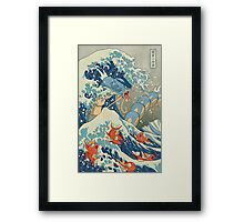 The Great Wave off Kanto Framed Print