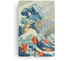 The Great Wave off Kanto Metal Print