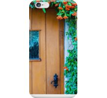 Traditional English front door iPhone Case/Skin