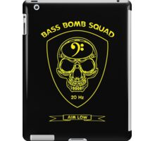 Bass Bomb Squad iPad Case/Skin