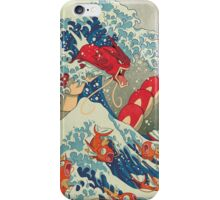 The Great Wave off Kanto - Shiny Version iPhone Case/Skin
