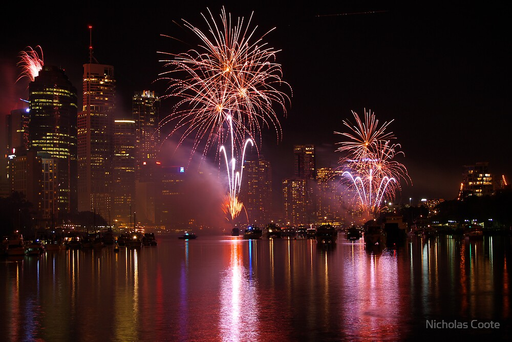 Riverfire by Nicholas Coote