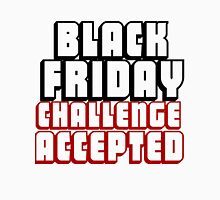 BLACK FRIDAY CHALLENGE ACCEPTED Men's Baseball ¾ T-Shirt