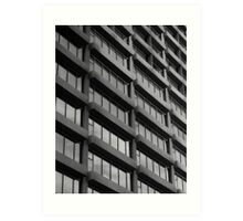 Repetition : Contemporary Melbourne Architecture  Art Print