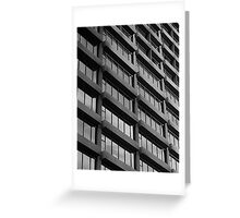 Repetition : Contemporary Melbourne Architecture  Greeting Card