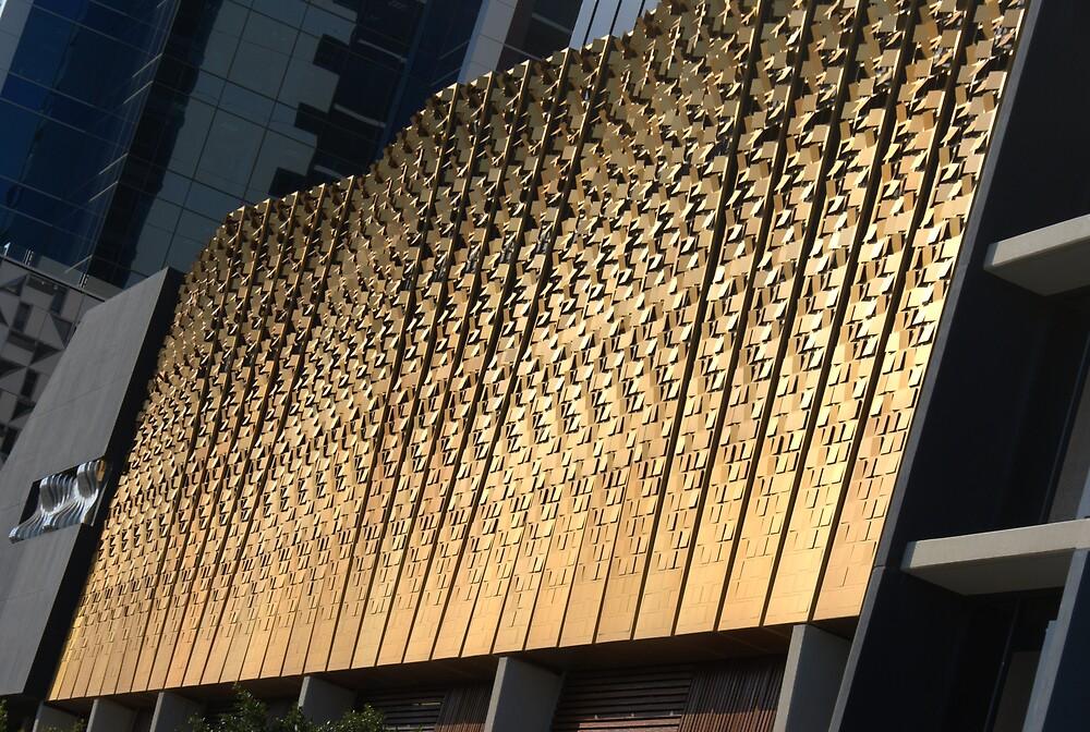 Gold Buildings by Nigel Roulston