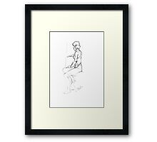 Figure Drawing Framed Print
