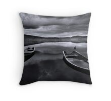 Abandonment Throw Pillow