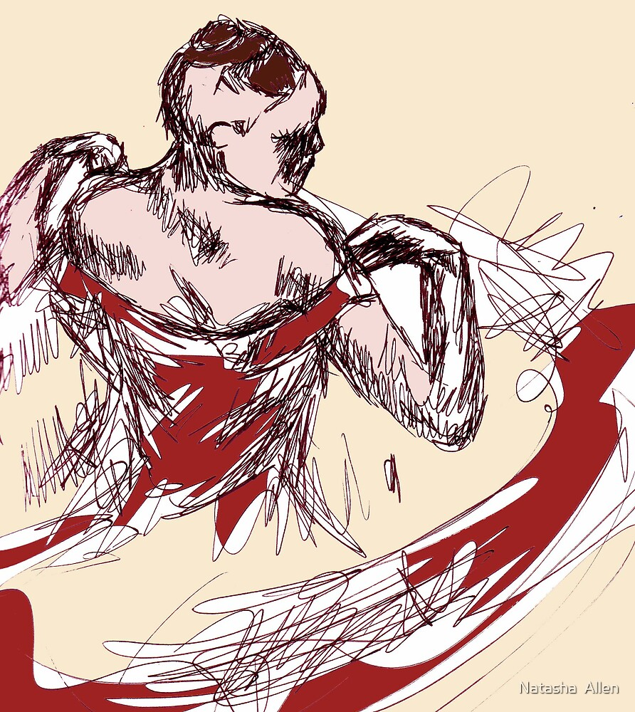Dancer Print by Natasha  Allen
