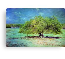 The Tropical Tree Canvas Print