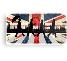 221B Abbey Road (Version One) Metal Print
