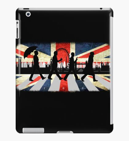 221B Abbey Road (Version One) iPad Case/Skin